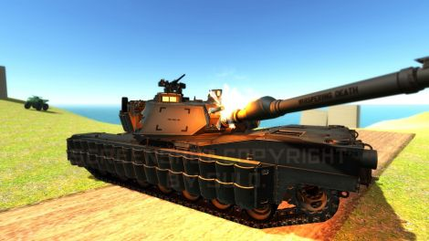 Urban Warfare M1A2 Abrams