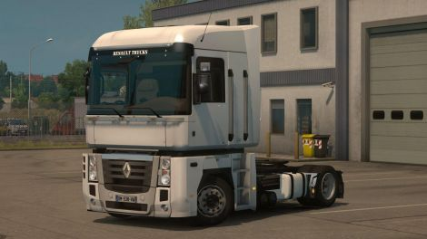 Low deck chassis addon for Renault Magnum