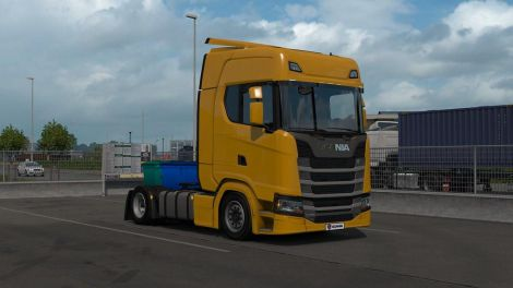 Lowdeck chassis addon for Scania NG by Eugene