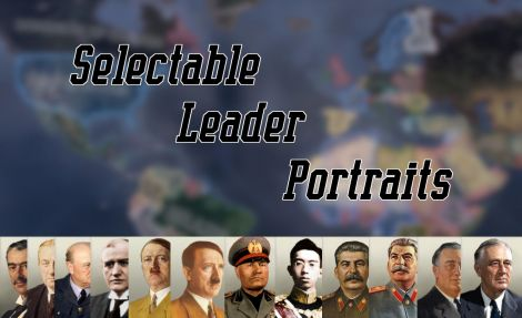 Selectable Leader Portraits