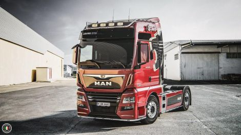 MAN TGX Euro 6 Real V8 Sound and Sound Rework