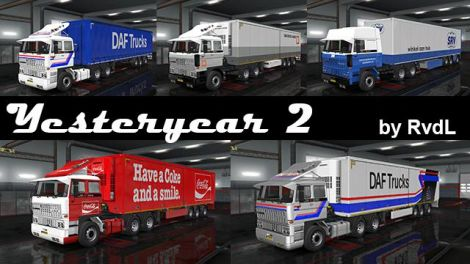 Skinpack for DAF F241 by XBS