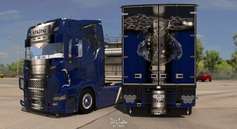 Scania S Viking Combo
