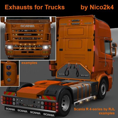 Exhausts & Accessories for Trucks