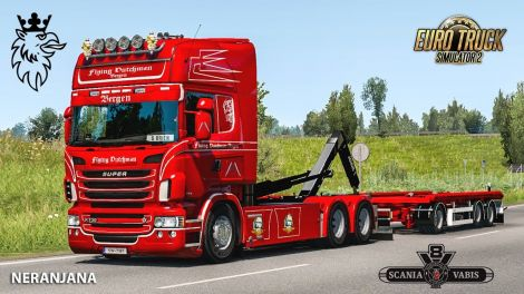 Abroll Scania RJL by FHJ Transporte