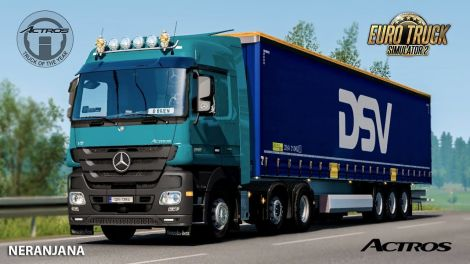 Mercedes-Benz Actros MP3 Reworked