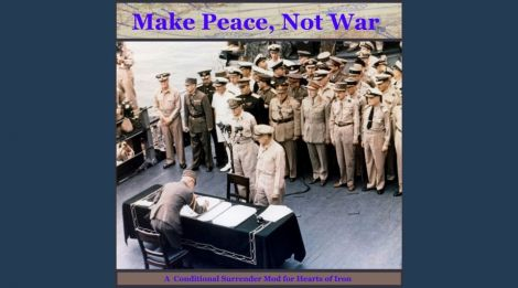 Make Peace, Not War