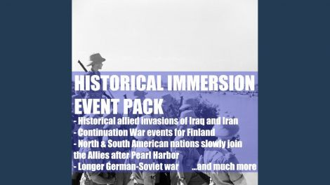 Historical Immersion Event Pack