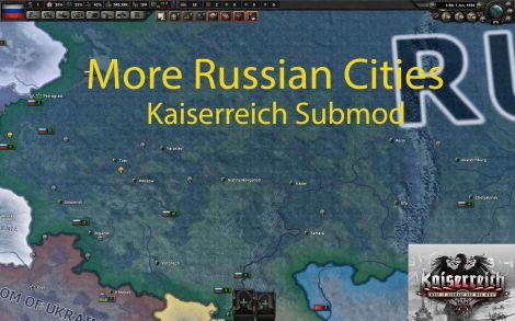 Kaiserreich Submod More Russian Cities