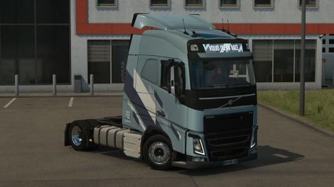 Low deck chassis addon for Eugene Volvo FH
