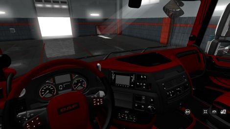 DAF XF 106 Red&Black Interior Exclusiv