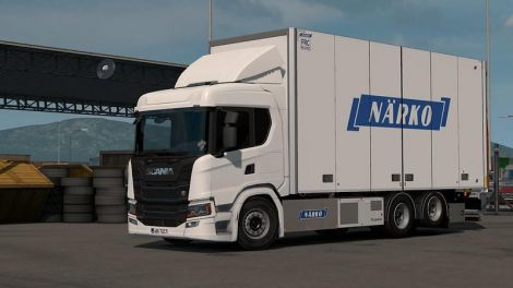 Rigid Chassis Addon for Scania NG by Eugene