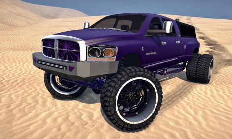 2007 Sema Dodge Ram 2500 Dually (Collision Axles)