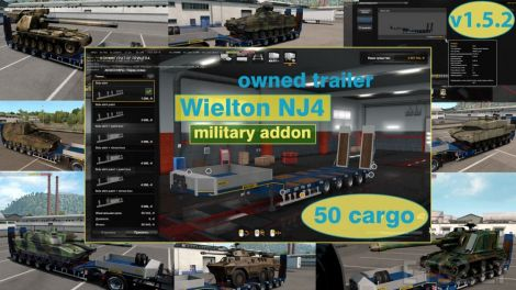 Military Addon for Ownable Trailer Wielton NJ4