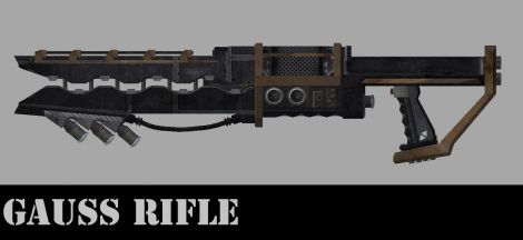 Gauss Rifle / Гаусс винтовка (RU)