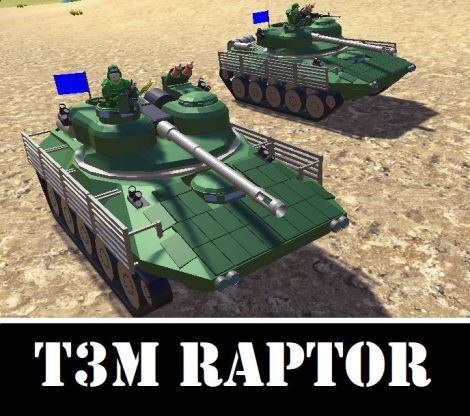T3M RAPTOR Light tank