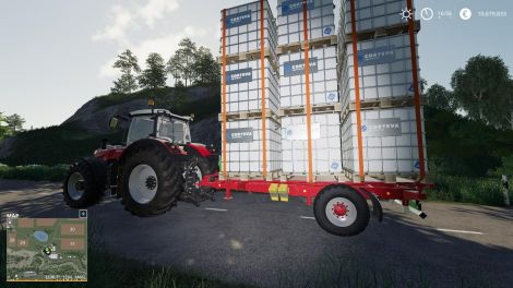 Autoload Pack With 3 Tiers Of Pallet Loading