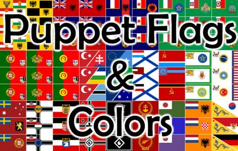 Puppet Flags & Colors