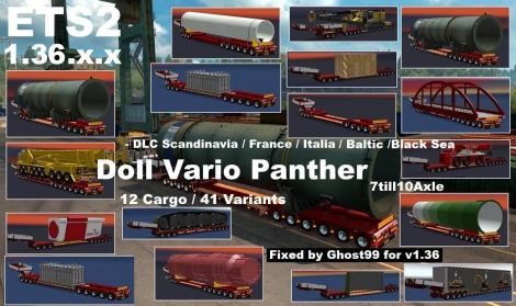 Doll Vario 7-10Axles Pack with 12 Cargos
