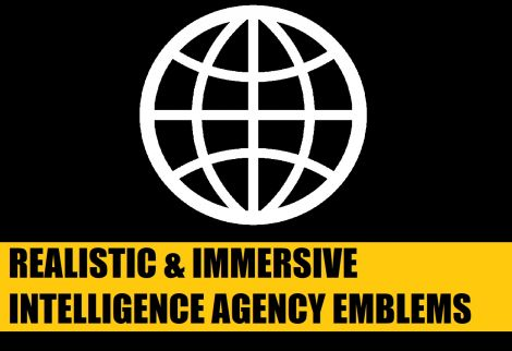 Realistic & Immersive Intelligence Agency Emblems - Uncensored Edition