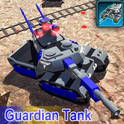 C&C Red Alert3:MBT-X8 Guardian Tank[Rebuild]