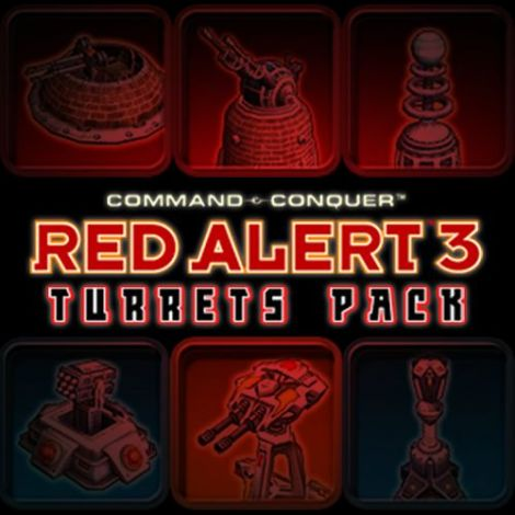 C&C Red Alert3:Turrets Pack(WIP)