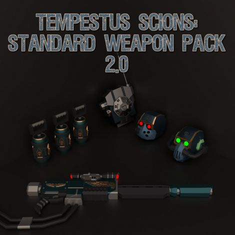 Tempestus Scions: Standard Weapon Pack 1.0