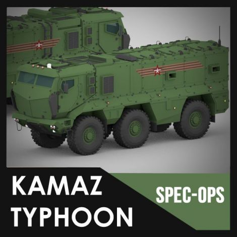 Kamaz Typhoon (Spec Ops Project)