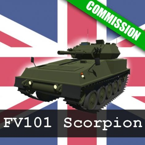(COMMISSION) FV101 Scorpion