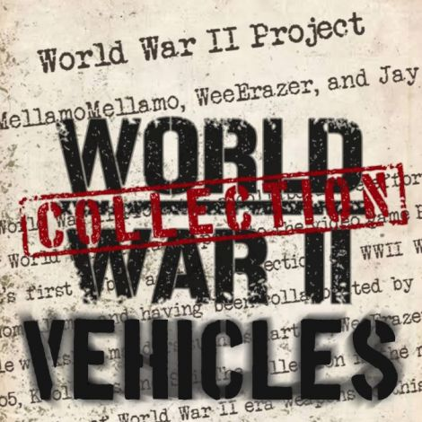 Collection of WW2 Vehicles