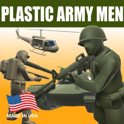 Plastic Army Men (Skins, Weapons, Vehicles)